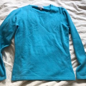 NWOT PURE Collection 100% cashmere sweater
